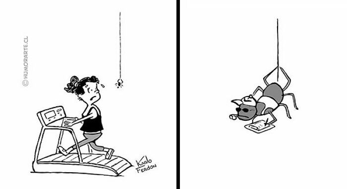 30 quadrinhos curtos e humorísticos de Karlo Ferdon 31