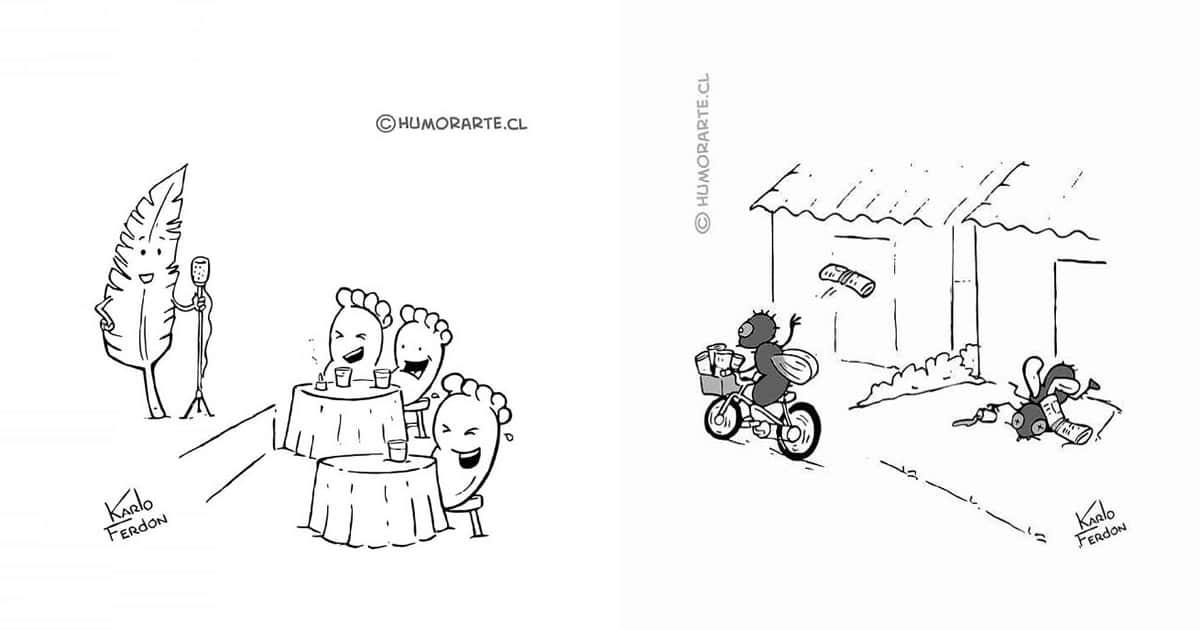30 quadrinhos curtos e humorísticos de Karlo Ferdon 42