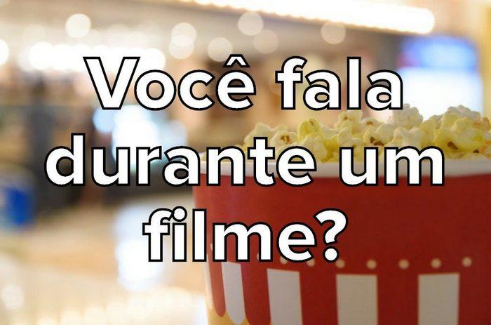 Seus hábitos no cinema são normais? 9