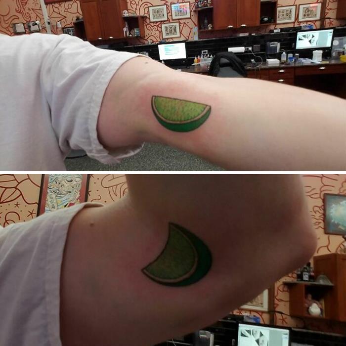 38 tatuagens impressionantes de movimento que se transformam quando as pessoas dobram seus corpos 27