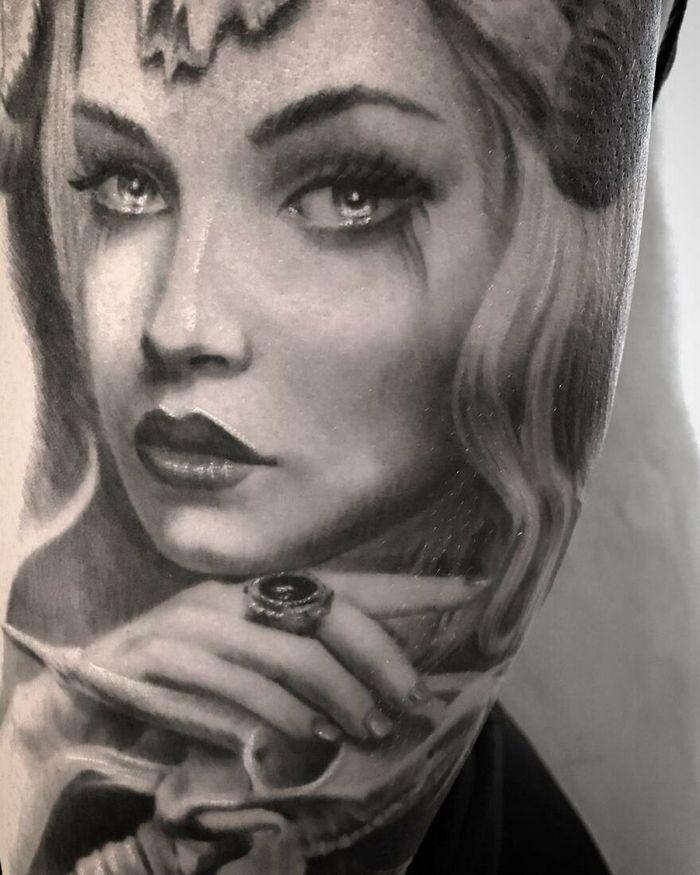 40 tatuagens impressionantes por um artista sueco 9