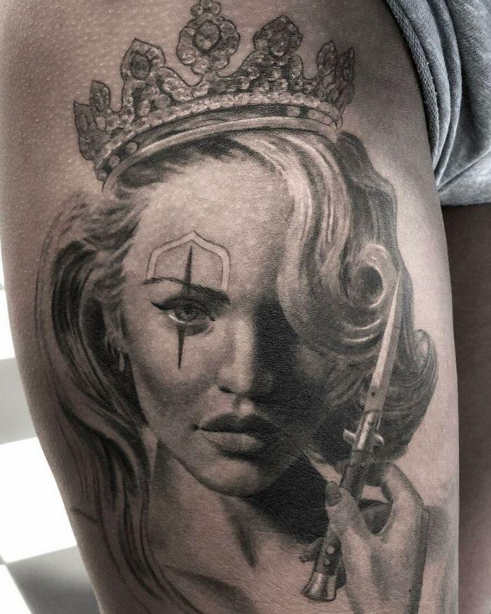 40 tatuagens impressionantes por um artista sueco 10