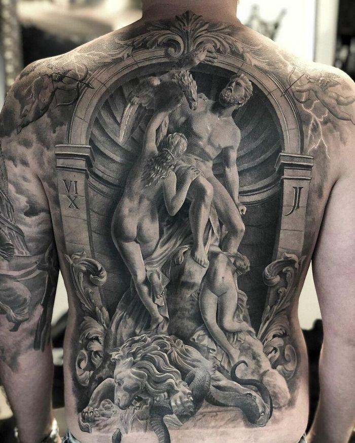 40 tatuagens impressionantes por um artista sueco 11