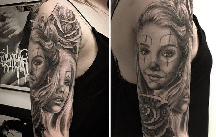 40 tatuagens impressionantes por um artista sueco 38