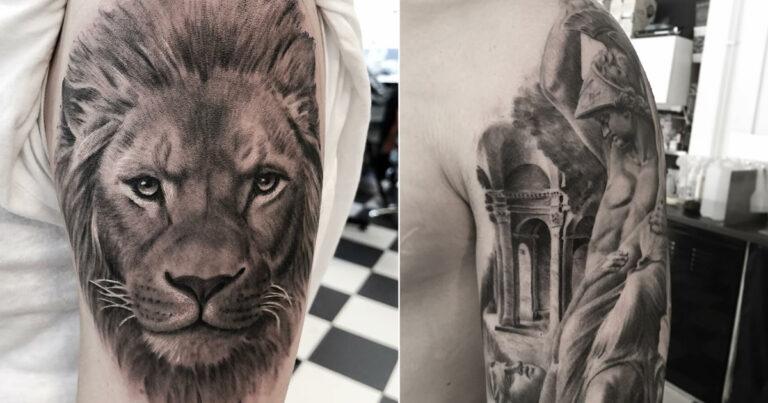 40 tatuagens impressionantes por um artista sueco 1