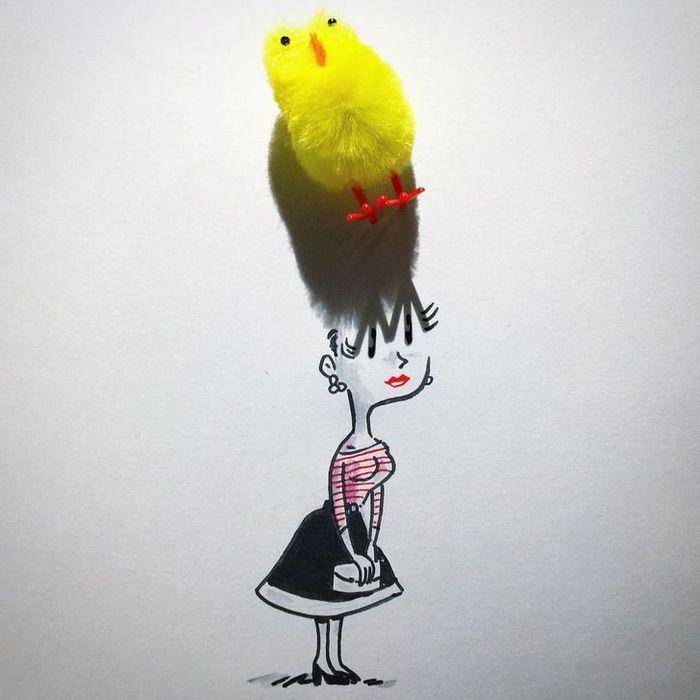 Um artista belga usa sombras para dar vida a objetos 8