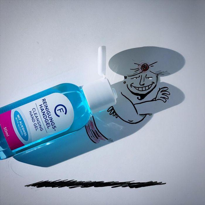Um artista belga usa sombras para dar vida a objetos 28
