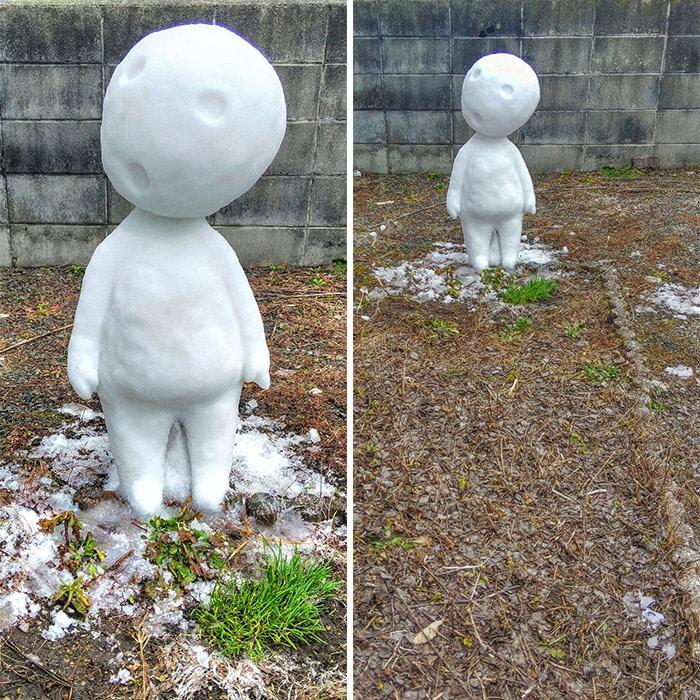 Usuário do Twitter cria esculturas de neve fascinantes e aqui estão 30 das mais legais 14