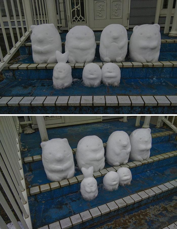 Usuário do Twitter cria esculturas de neve fascinantes e aqui estão 30 das mais legais 17