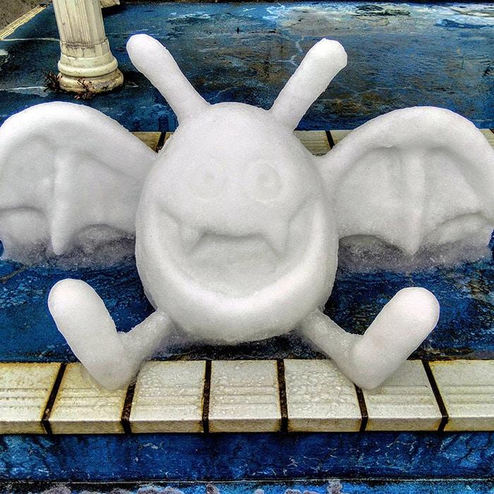 Usuário do Twitter cria esculturas de neve fascinantes e aqui estão 30 das mais legais 28