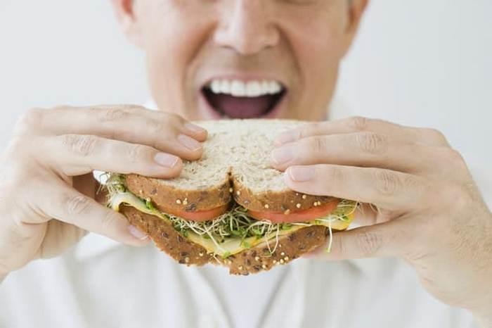 Você come sanduíches que nem todo mundo? 9