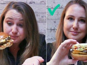 Você come sanduíches que nem todo mundo? 7