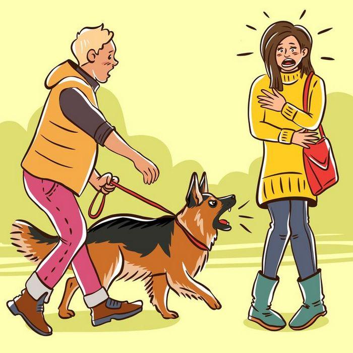 Por que o cachorro late para algumas pessoas e outras não? 3