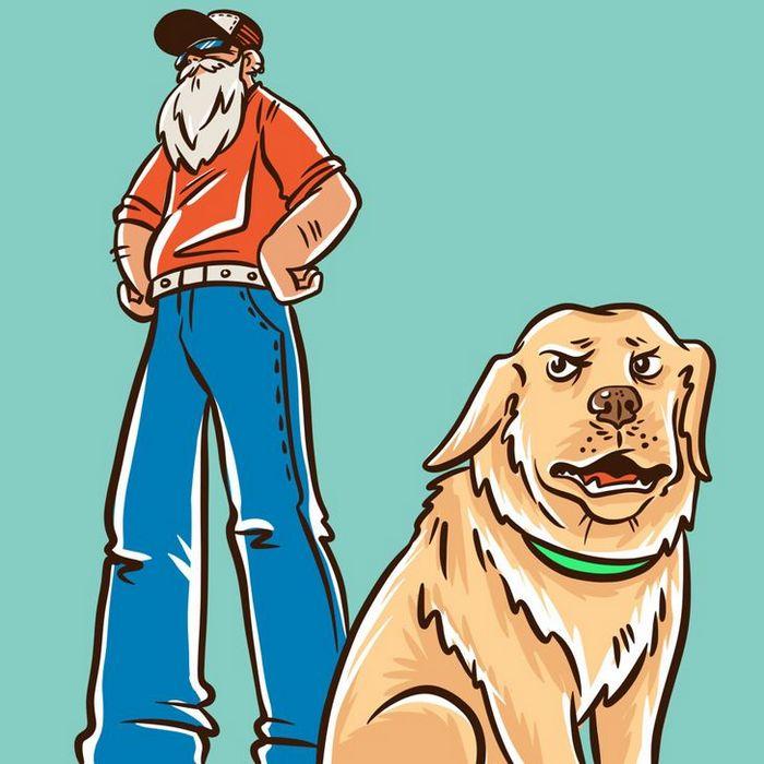 Por que o cachorro late para algumas pessoas e outras não? 4