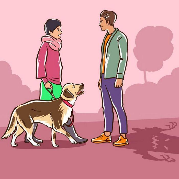Por que o cachorro late para algumas pessoas e outras não? 7