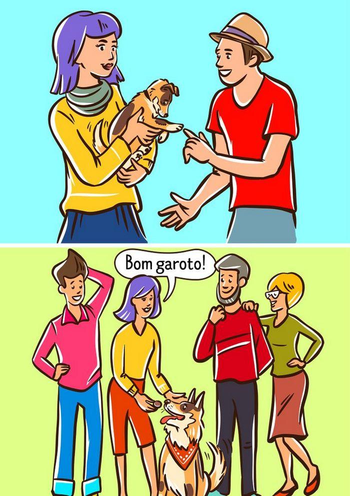 Por que o cachorro late para algumas pessoas e outras não? 8