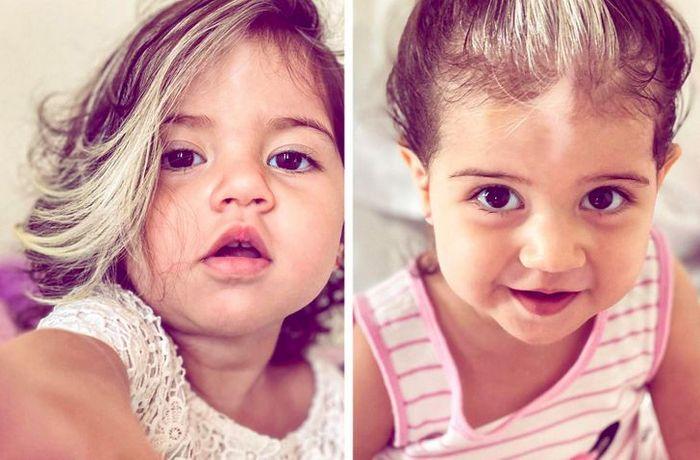 A bebê que nasceu com cabelo grisalhos é a prova de que nossos defeitos nos tornam mais bonitos 10