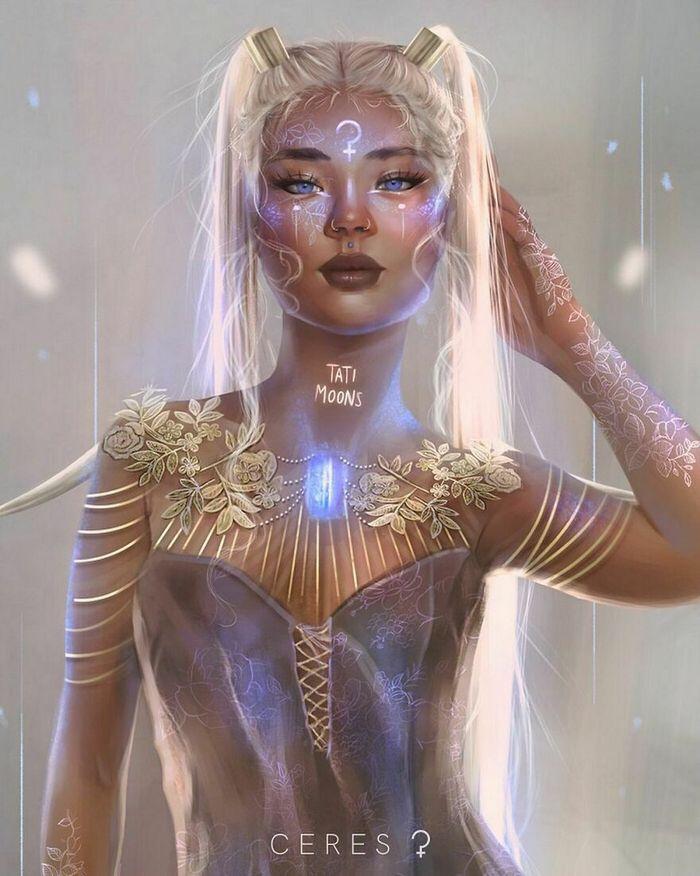 Artista imagina como seriam os signos, planetas e elementos do zodíaco chinês como pessoas 18