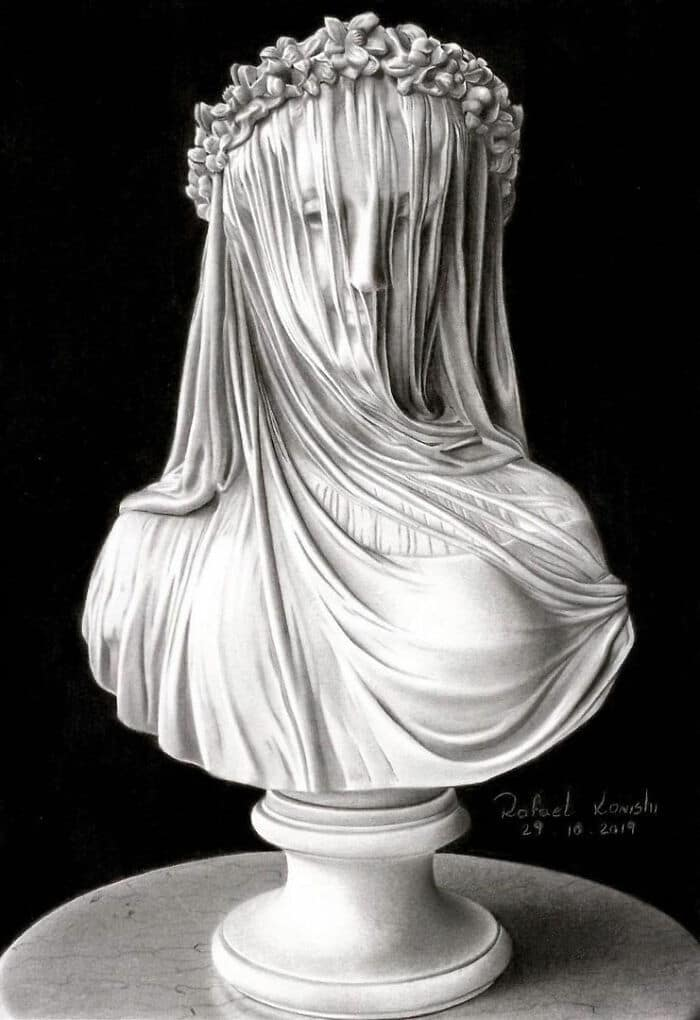 35 desenhos a lápis hiper-realistas por Rafael Konishi 18