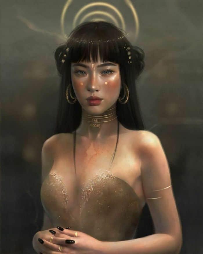 Artista imagina como seriam os signos, planetas e elementos do zodíaco chinês como pessoas 22