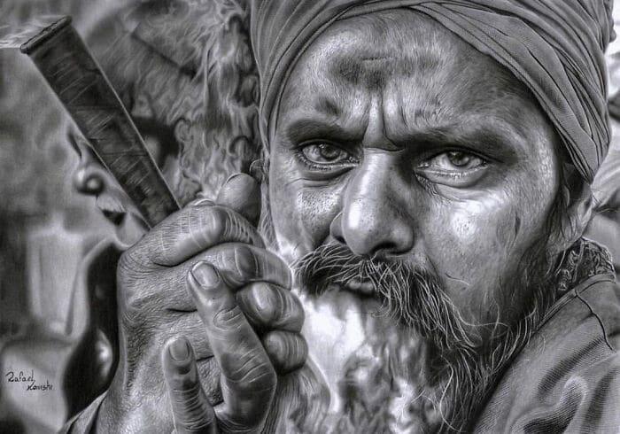 35 desenhos a lápis hiper-realistas por Rafael Konishi 23
