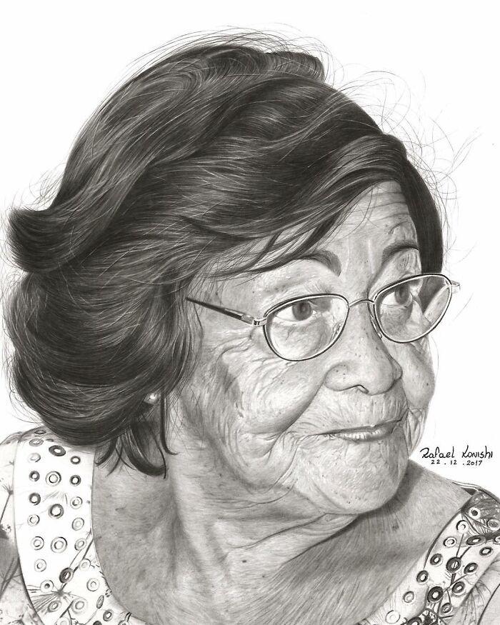 35 desenhos a lápis hiper-realistas por Rafael Konishi 27