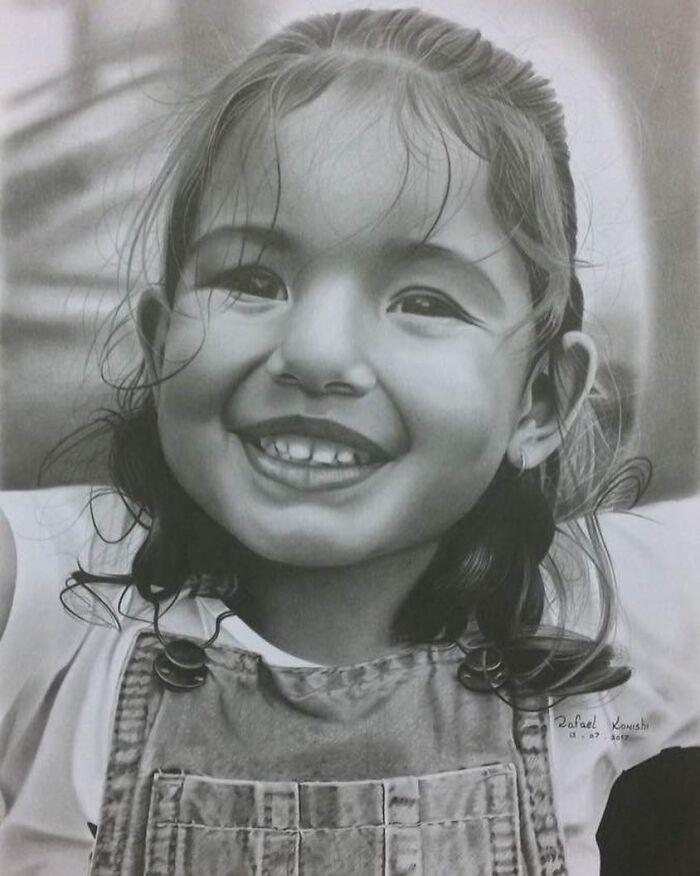 35 desenhos a lápis hiper-realistas por Rafael Konishi 29