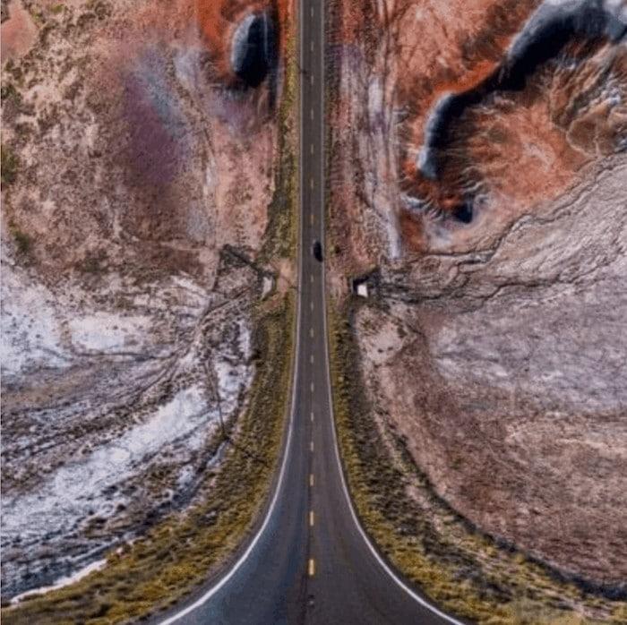 36 fotos de drones surreal que vão te dar frio na barriga 29