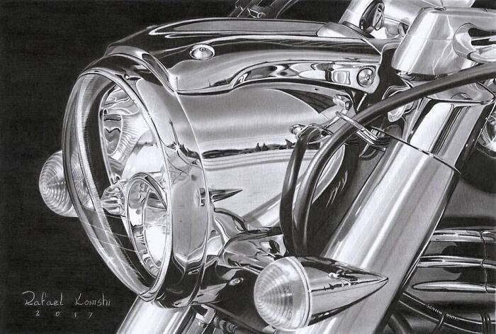 35 desenhos a lápis hiper-realistas por Rafael Konishi 30