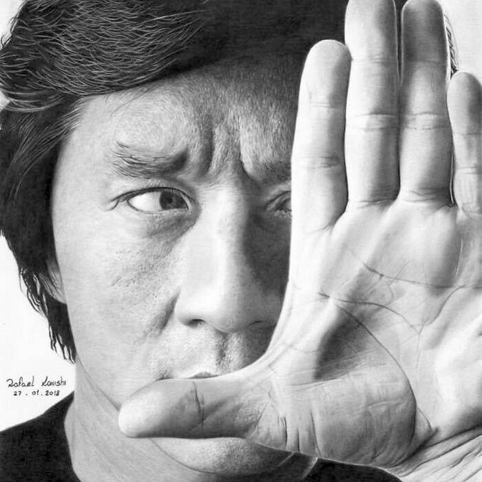 35 desenhos a lápis hiper-realistas por Rafael Konishi 36