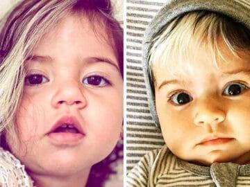 A bebê que nasceu com cabelo grisalhos é a prova de que nossos defeitos nos tornam mais bonitos 4