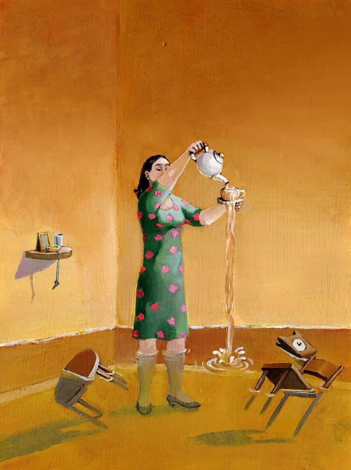 Artista cria 42 ilustrações surreais sobre nossa sociedade 24
