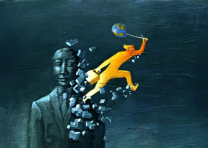 Artista cria 42 ilustrações surreais sobre nossa sociedade 37