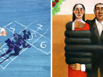 Artista cria 42 ilustrações surreais sobre nossa sociedade 39