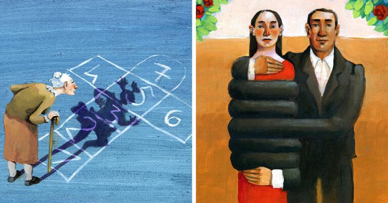 Artista cria 42 ilustrações surreais sobre nossa sociedade 1