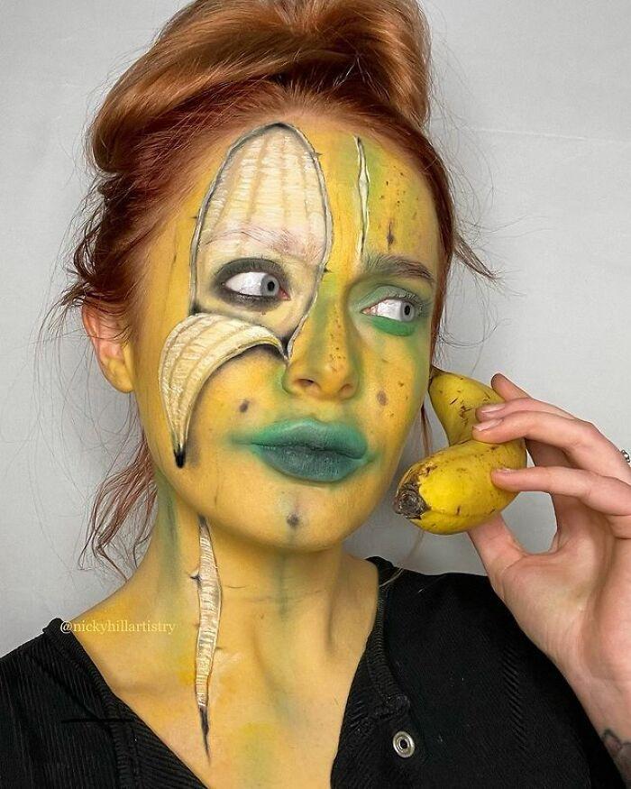 Artista de maquiagem se transforma em qualquer celebridade ou ilusão de ótica que ela deseja 15