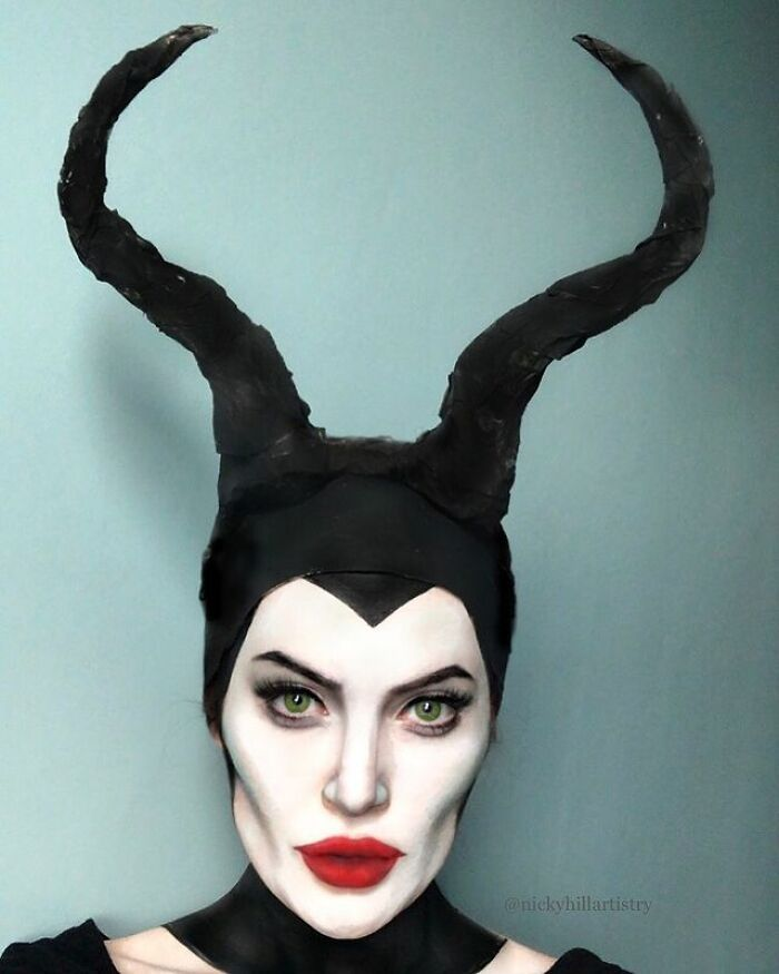 Artista de maquiagem se transforma em qualquer celebridade ou ilusão de ótica que ela deseja 33