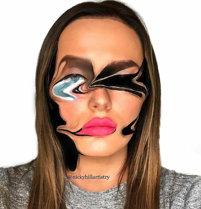 Artista de maquiagem se transforma em qualquer celebridade ou ilusão de ótica que ela deseja 36