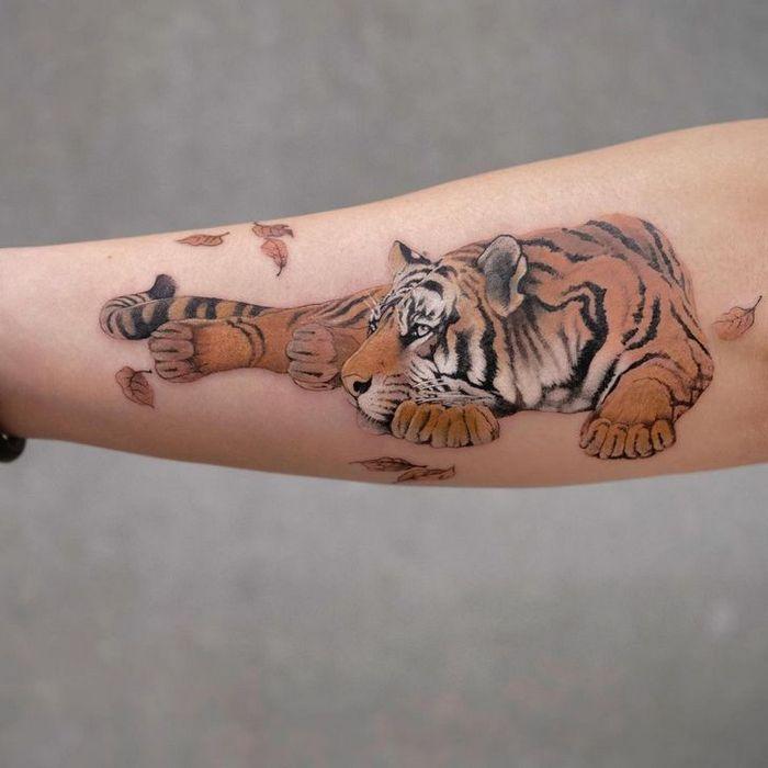Artista faz tatuagens de tirar o fôlego que parecem ter saído de um conto de fadas 32