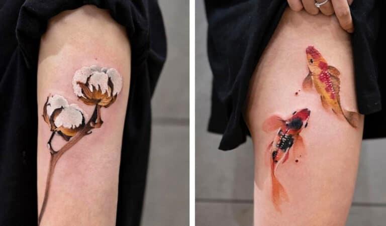 Artista faz tatuagens de tirar o fôlego que parecem ter saído de um conto de fadas 1