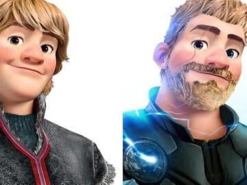 Artista imaginou personagens da Disney como super-heróis 47