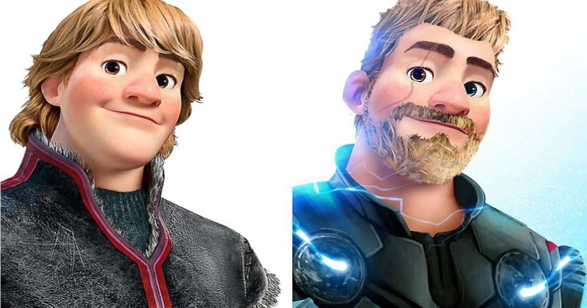 Artista imaginou personagens da Disney como super-heróis 42