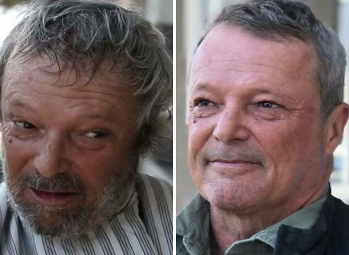 Barbeiro transforma pessoas sem-teto de graça e essas 30 fotos de antes e depois 11