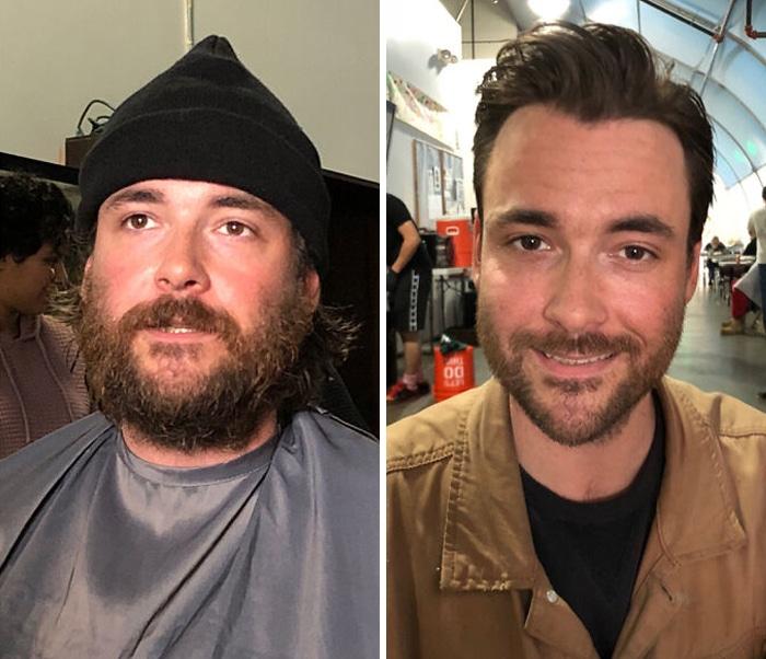 Barbeiro transforma pessoas sem-teto de graça e essas 30 fotos de antes e depois 19