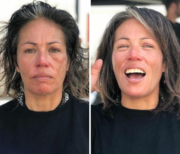 Barbeiro transforma pessoas sem-teto de graça e essas 30 fotos de antes e depois 28