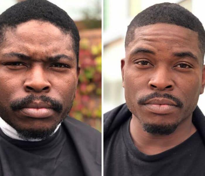 Barbeiro transforma pessoas sem-teto de graça e essas 30 fotos de antes e depois 31