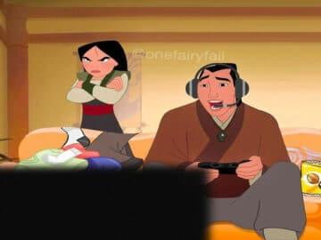 E se os personagens da Disney tivesse celulares e computadores? 47
