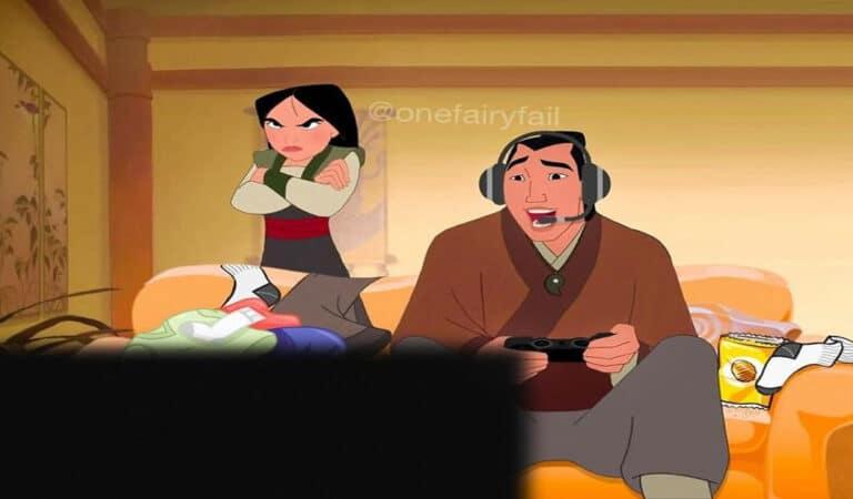 E se os personagens da Disney tivesse celulares e computadores? 40