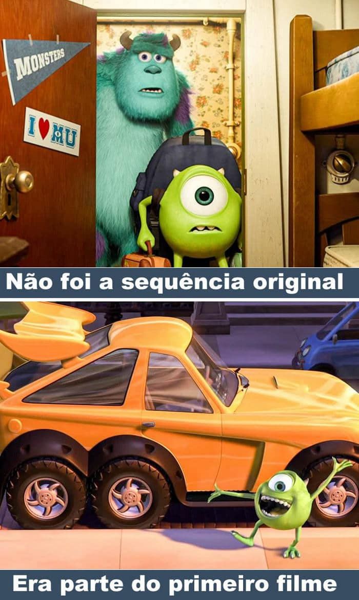 12 fatos interessante sobre os filmes da Pixar 3