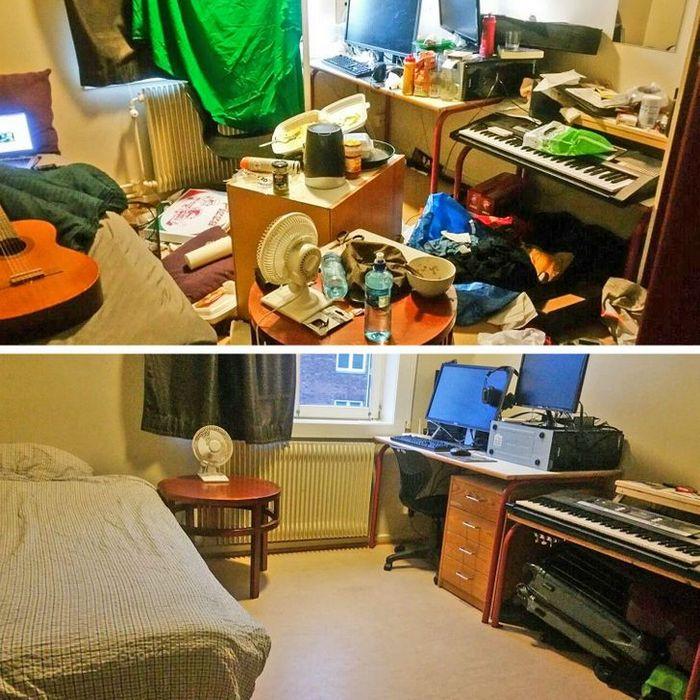 17 fotos de antes e depois que mostram o poder mágico da limpeza 5